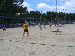 First junior beach tournament in Raleigh, 2006