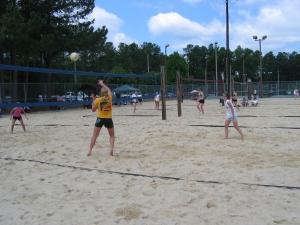 First junior beach tournament in Raleigh, 2006