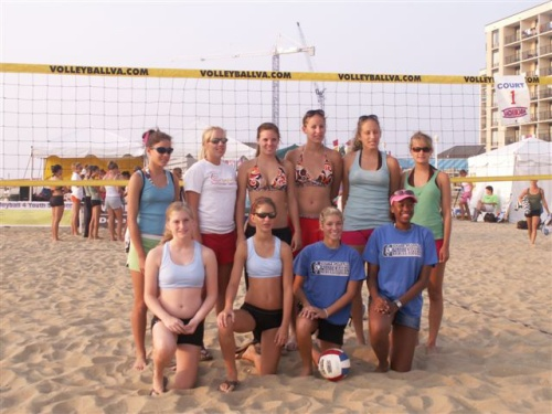 NC teams at AAU junior beach olympics