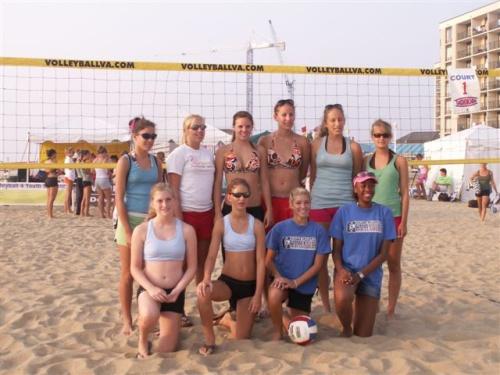 NC teams at AAU junior beach olympics